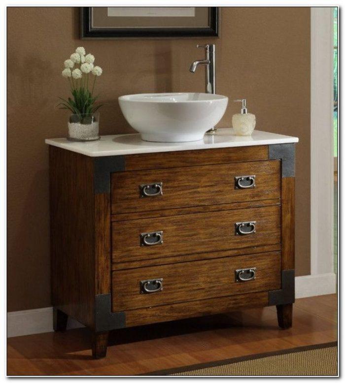 Bathroom Vanity Cabinets For Vessel Sinks