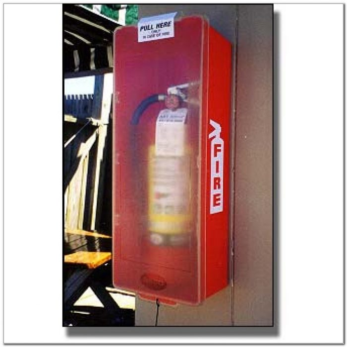 Beco Fire Extinguisher Box Covers