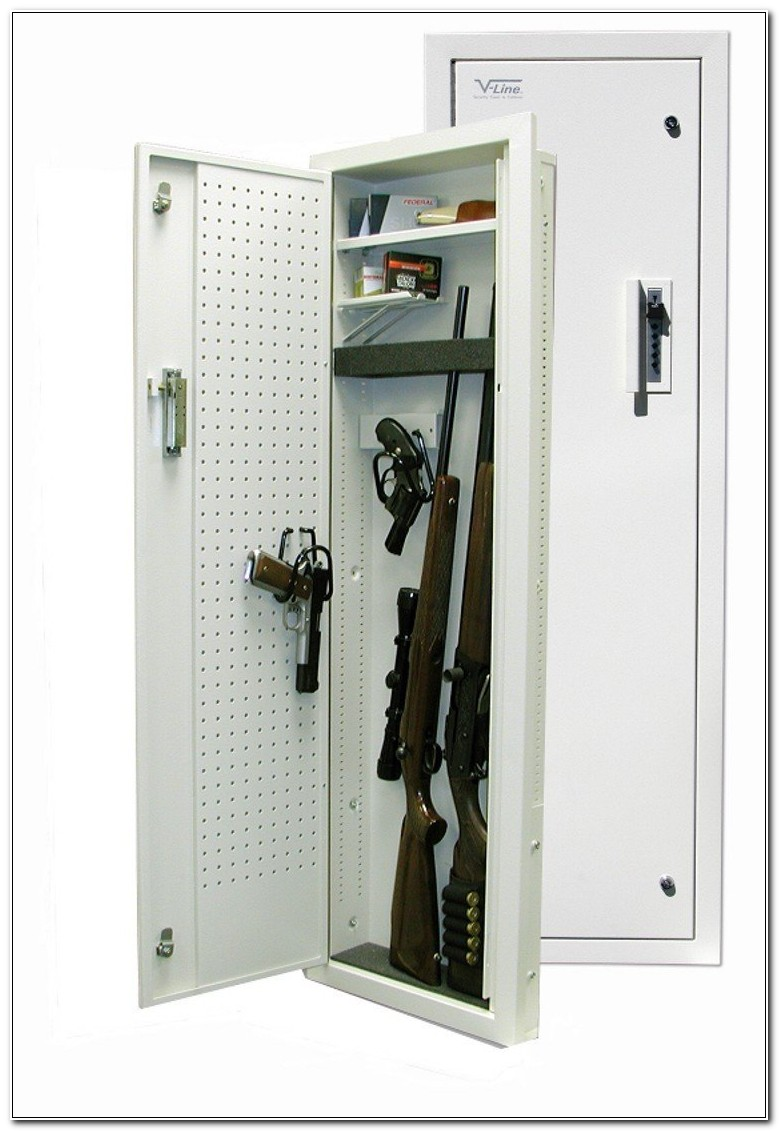 Between The Studs Gun Cabinet