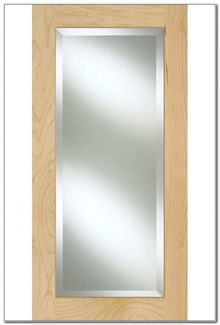 Beveled Glass Cabinet Doors