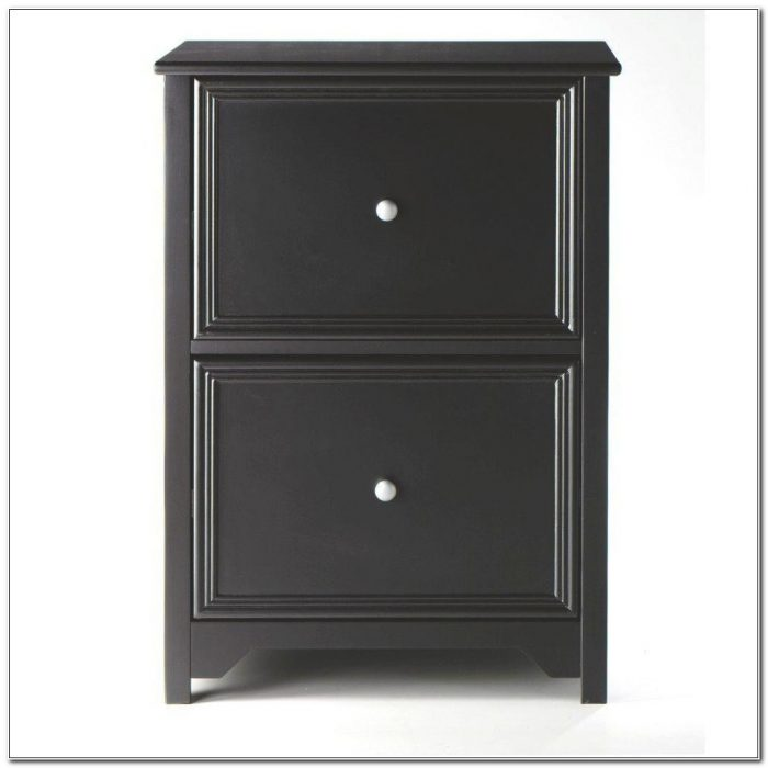 Black Filing Cabinet Wood