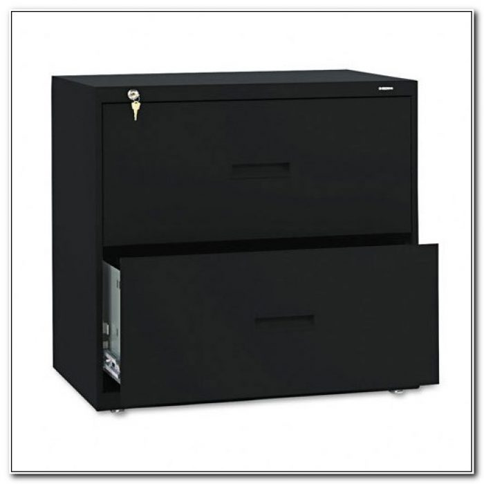 Black Metal Lateral Filing Cabinets