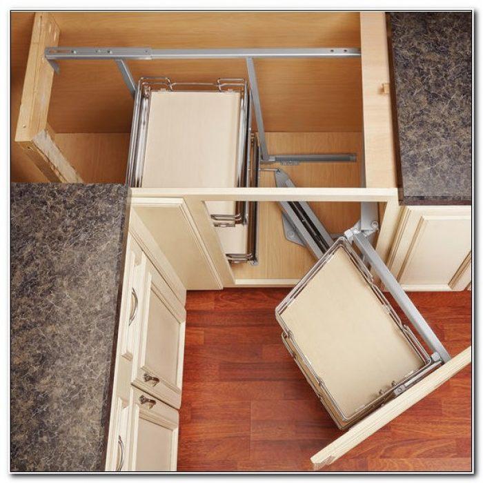 Blind Corner Kitchen Cabinet Organizer