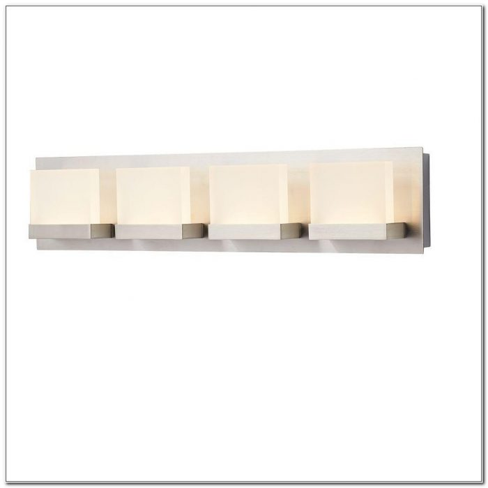Brushed Nickel Bathroom Vanity Light