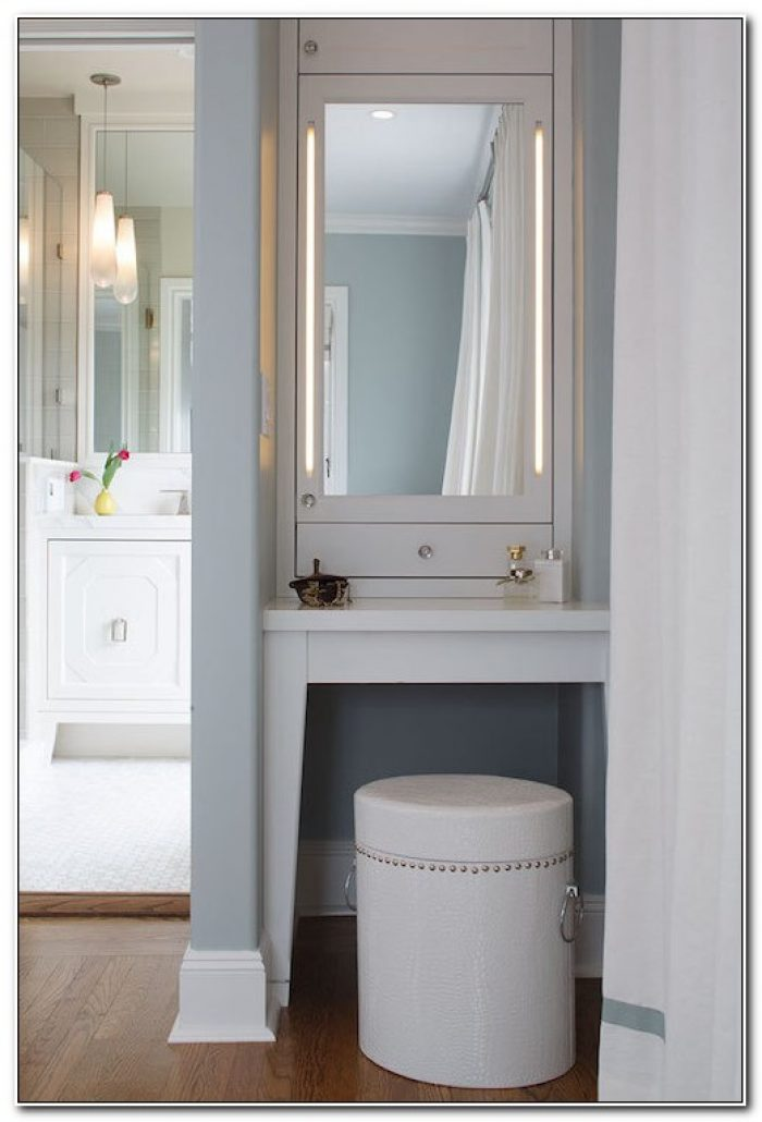 Built In Makeup Vanity Cabinets