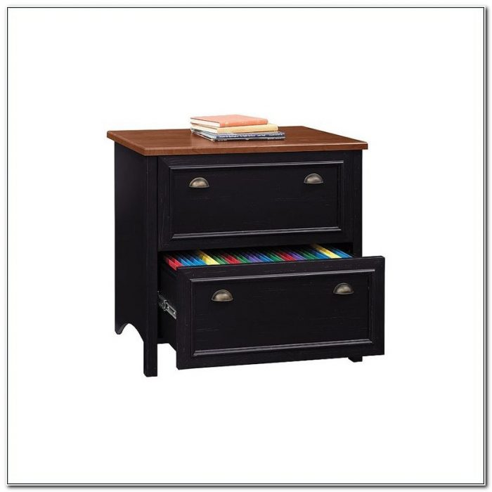 Bush Stanford Collection Lateral File Cabinet