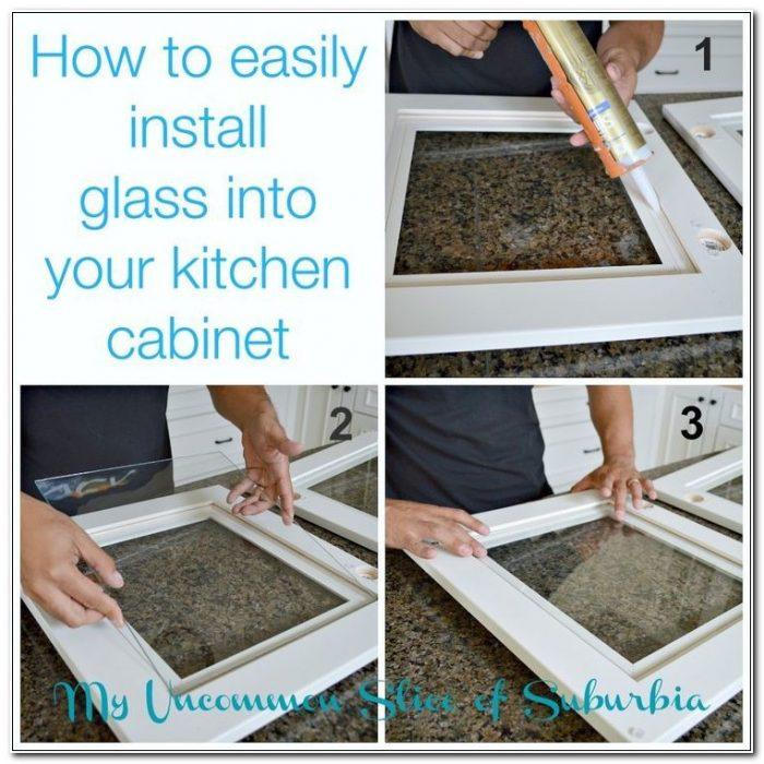 Cabinet Door Glass Inserts Diy