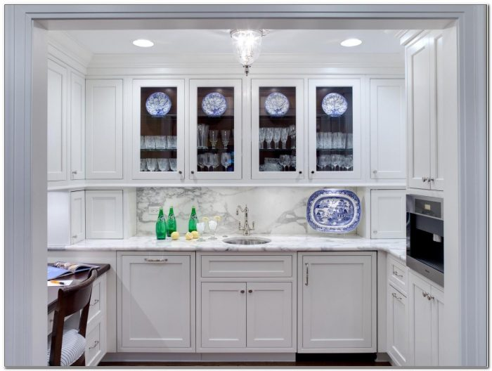 Cabinet Doors With Glass Fronts