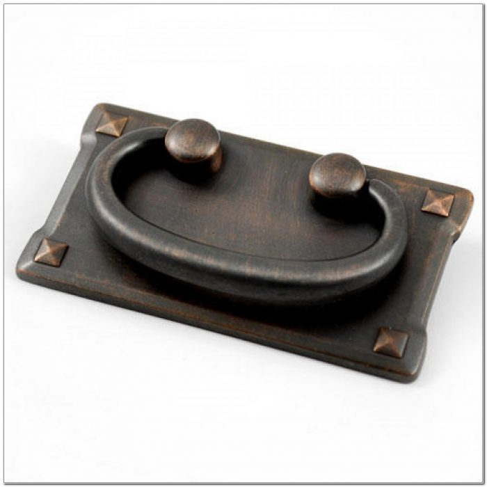 Cabinet Drawer Pulls With Backplate