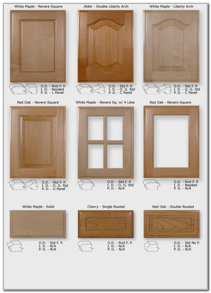 Cabinet Glass Doors Replacement