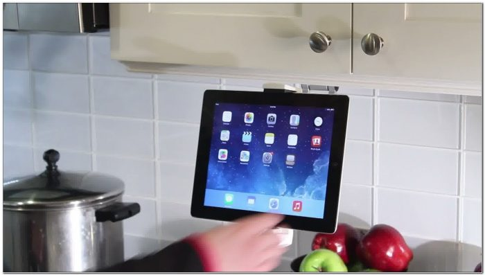 Cabinet Mount For Ipad 2
