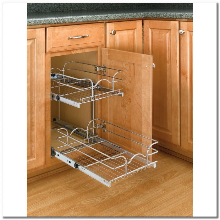 Cabinet Organizer Pull Out Shelf