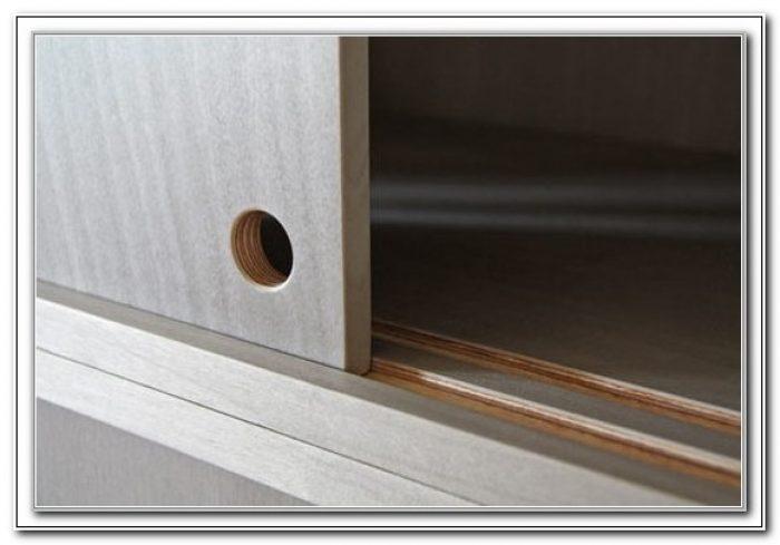 Cabinet Sliding Door Track Kit