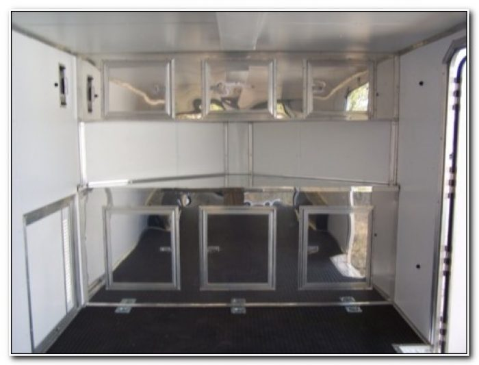 Cabinets For Enclosed Cargo Trailers