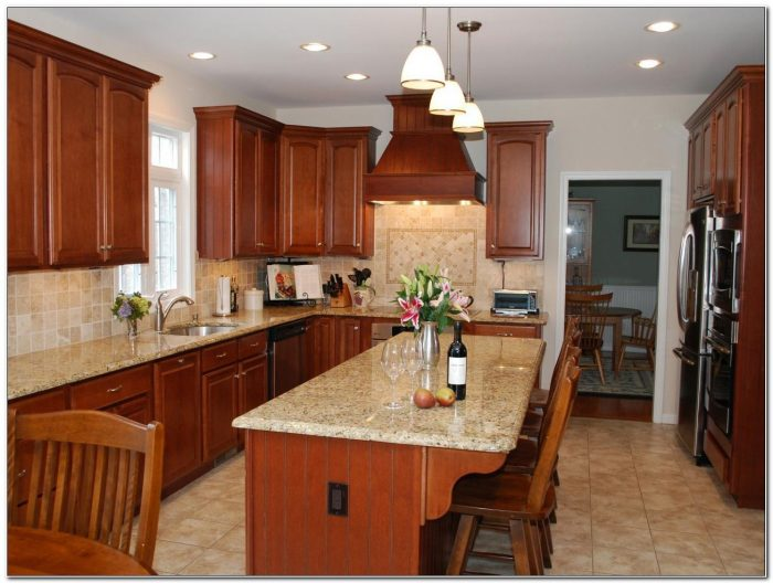 Cabinets With Granite Countertops