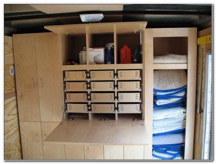 Cargo Trailer Storage Cabinets