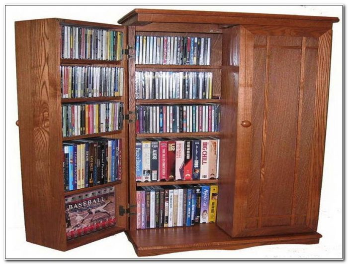 Cd Storage Cabinets Wood