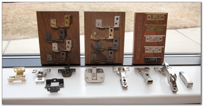 Changing Types Of Cabinet Hinges