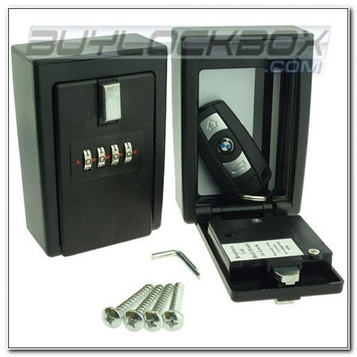 Combination Key Lock Box Wall Mount