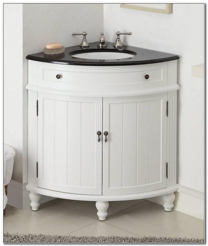 Corner Sink Bathroom Base Cabinet