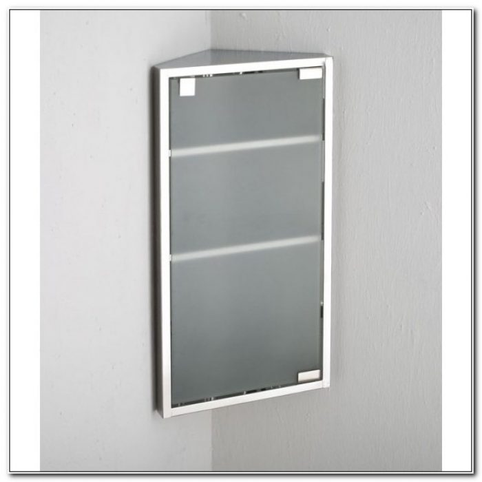 Corner Wall Bathroom Cabinet
