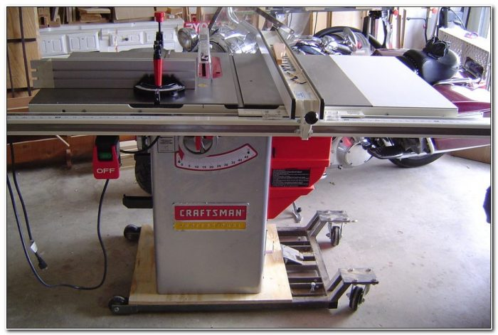 Craftsman Cabinet Table Saw