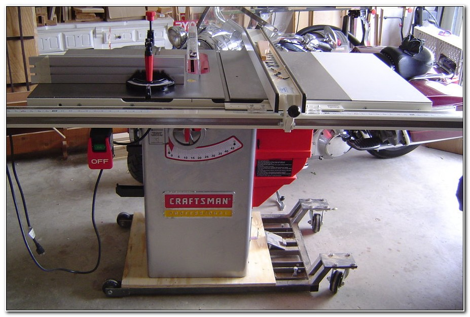Craftsman Professional Cabinet Table Saw
