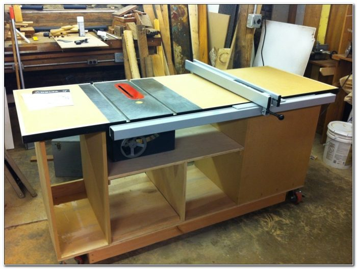 Craftsman Table Saw Cabinet Plans