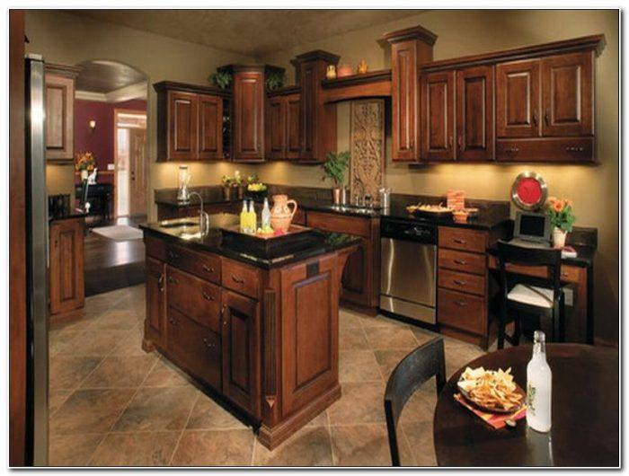 Dark Cabinet Kitchen Decorating Ideas
