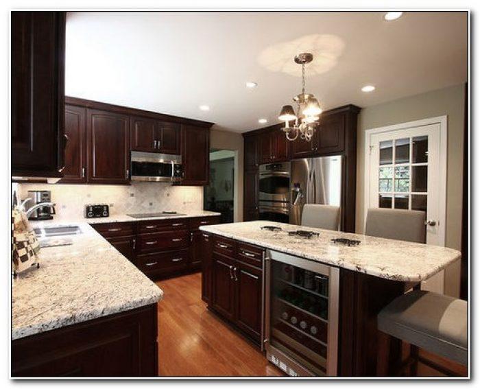 Dark Cabinets With Granite Countertops