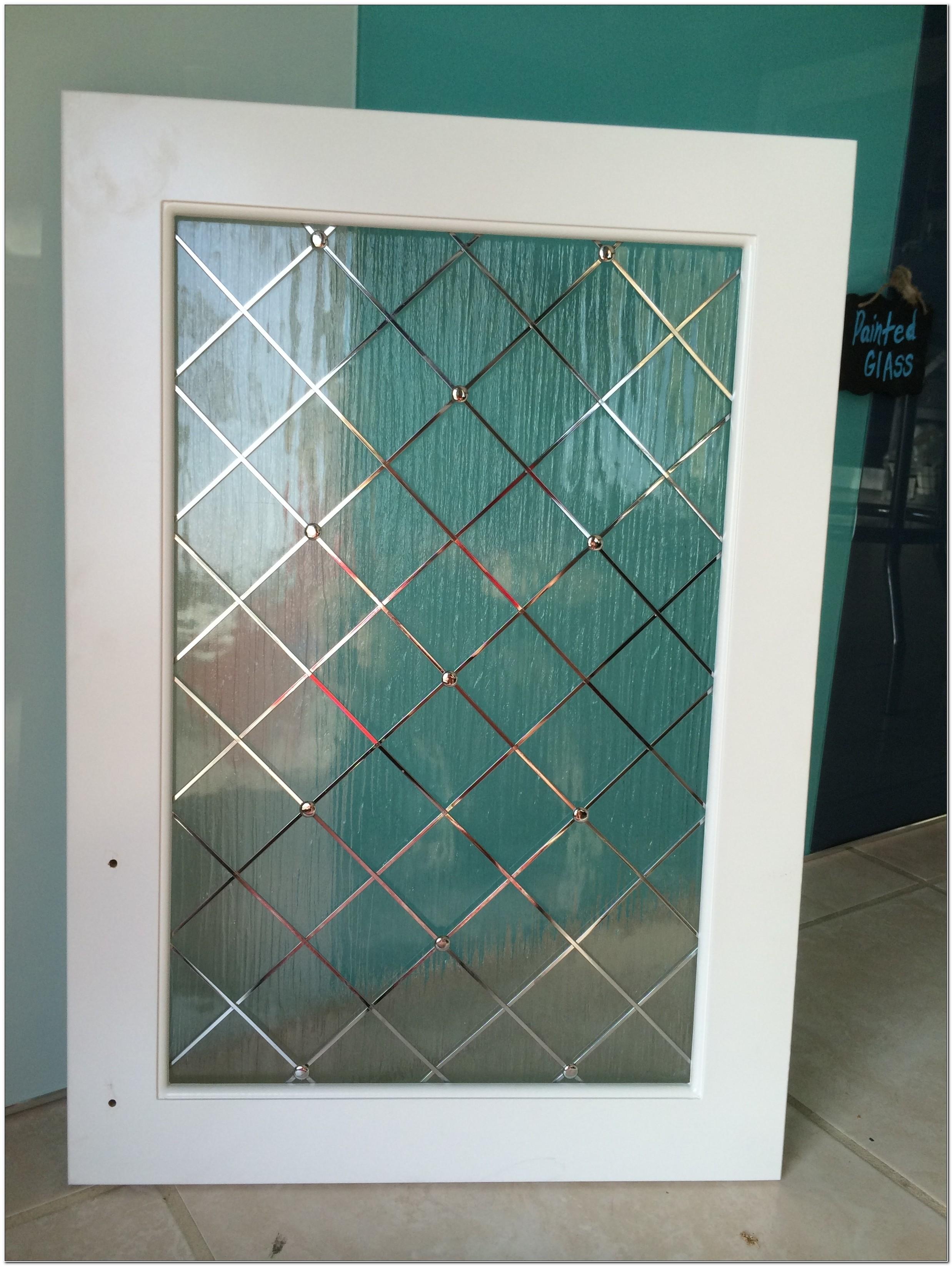 Decorative Cabinet Glass Door Inserts
