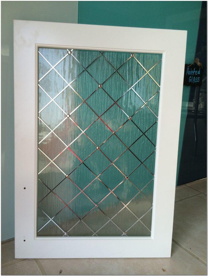 Decorative Glass Cabinet Door Inserts