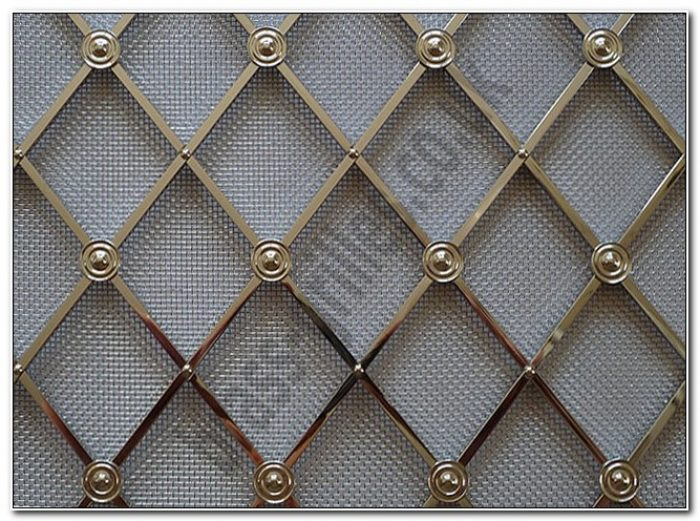 Decorative Wire Mesh For Cabinets Doors