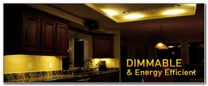 Dimmable Under Cabinet Lighting