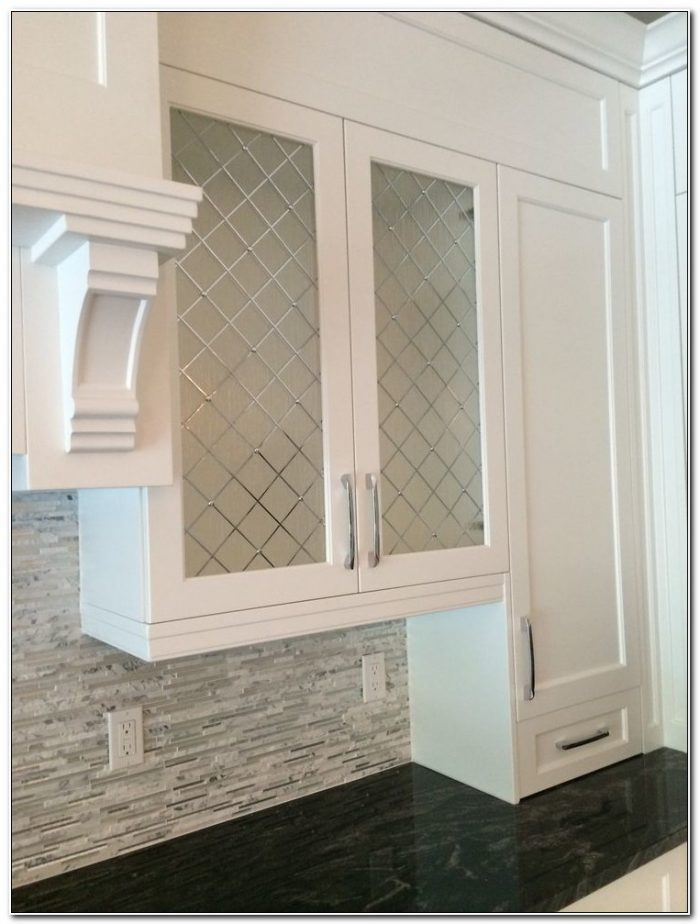 Diy Frosted Glass Cabinet Door Inserts