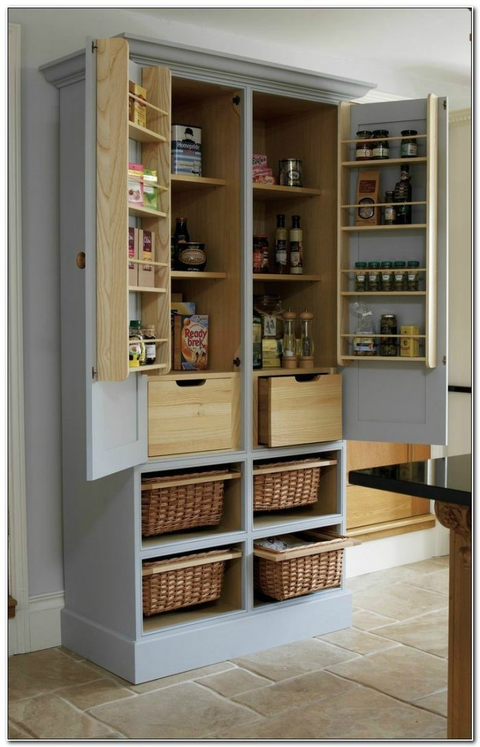 Diy Stand Alone Pantry Cabinet