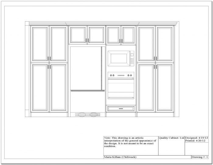 Double Wall Oven Cabinet Unfinished