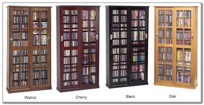 Dvd Cabinet With Sliding Glass Doors