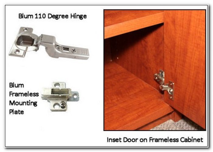 European Hinges Inset Cabinet Doors