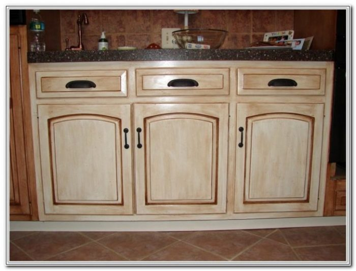 Faux Finish Kitchen Cabinets Houston