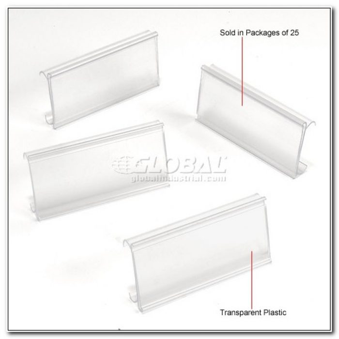 File Cabinet Label Holders Plastic