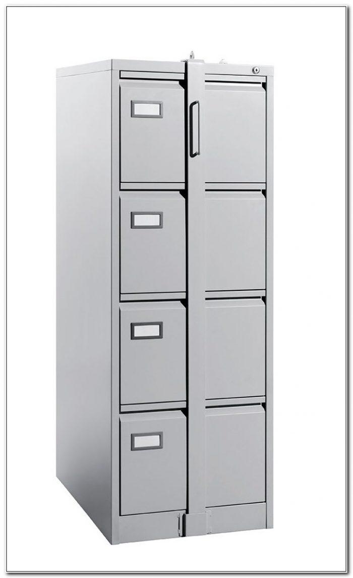 File Cabinet Locking Bar 4 Drawer