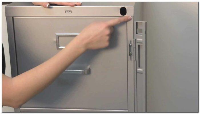 File Cabinet Locking Bar