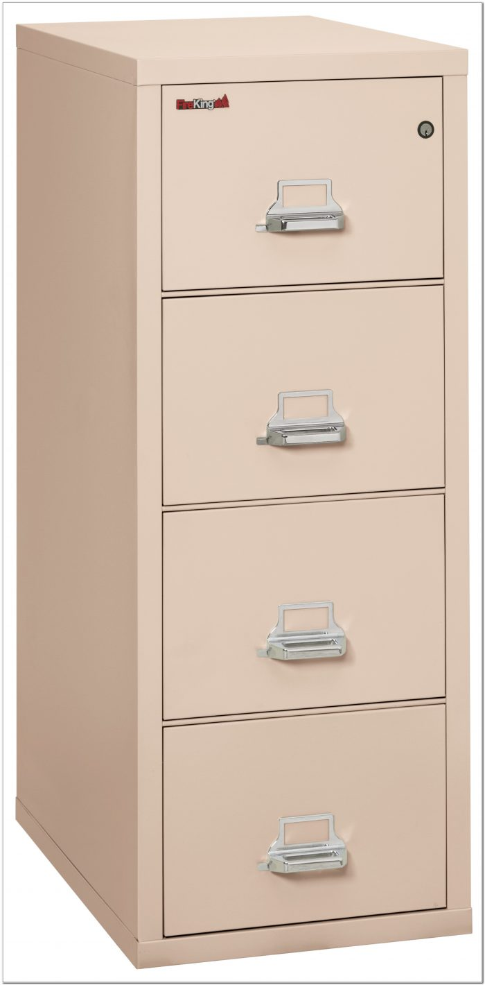 Fireproof Lateral File Cabinet 4 Drawers
