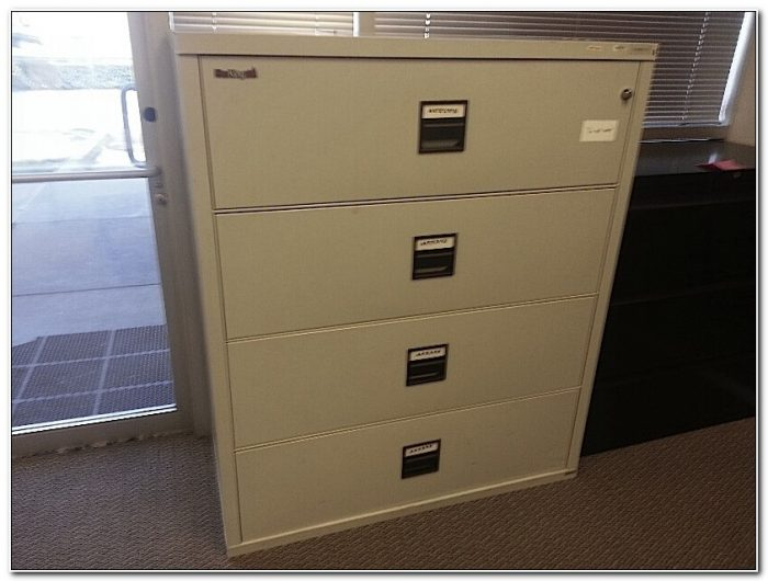 Fireproof Lateral File Cabinet Used