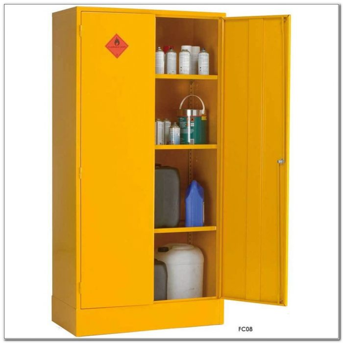 Flammable Storage Cabinet Requirements Uk