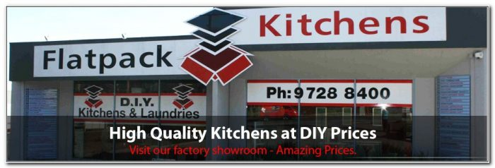 Flat Pack Kitchen Cabinets Melbourne