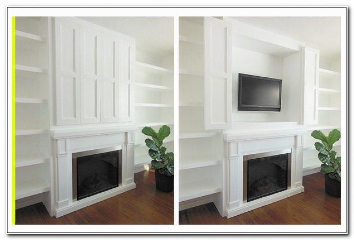 Flat Screen Cabinet Hidden