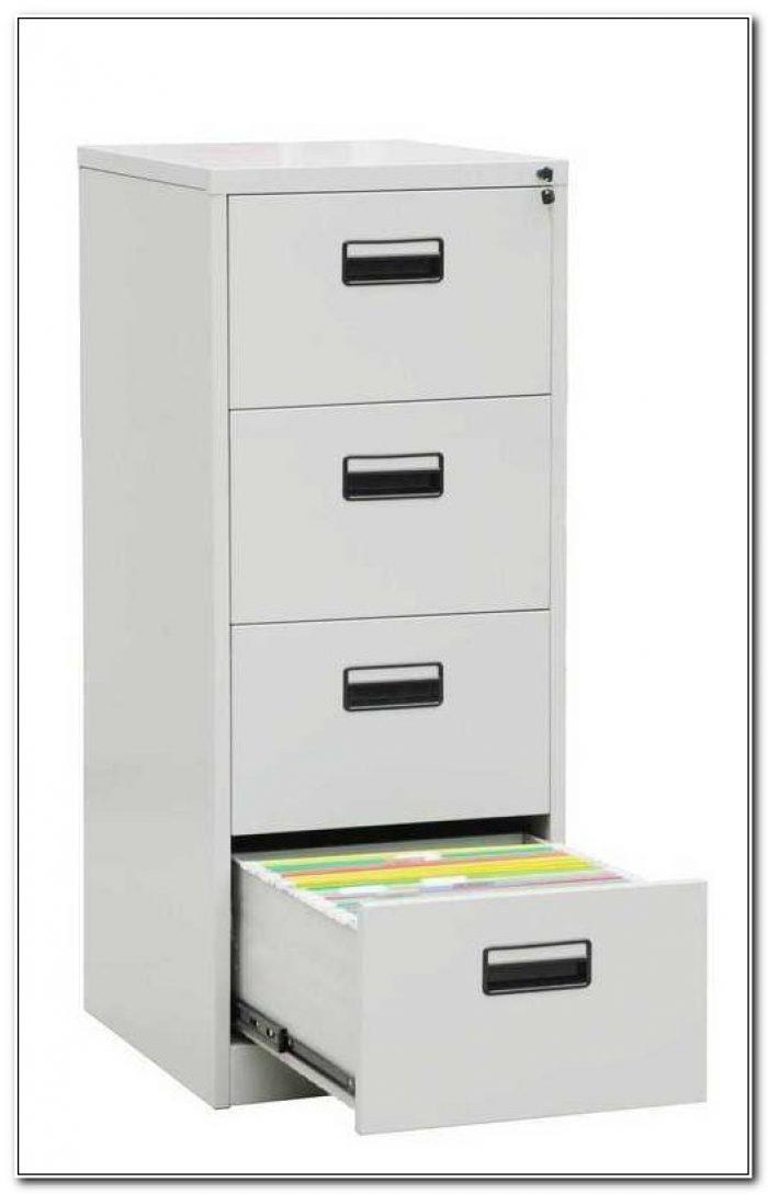 Four Drawer Filing Cabinet Metal