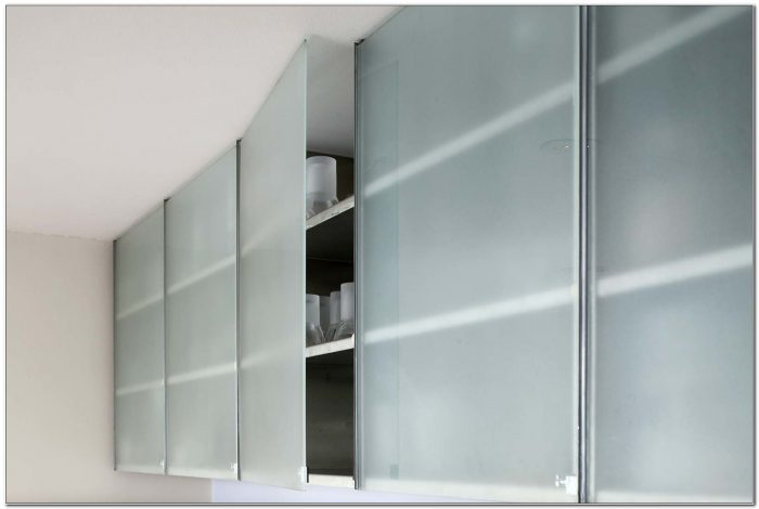 Frameless Glass Kitchen Cabinet Doors